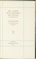 Books:Literature 1900-up, Thornton Wilder. SIGNED/LIMITED. The Angel that Troubled theWaters and Other Plays. New York: Coward - McCann, ...