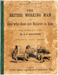 """Books:Art & Architecture, [Cartoons]. J.F. Sullivan. The British Working Man by One who does Not Believe in Him. London: """"Fun"""" Office, 1878. F..."""