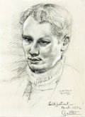 Autographs:Artists, Garth Williams: Self-Portrait, March 1932....