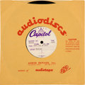 "Music Memorabilia:Recordings, Beatles ""Can't Buy Me Love/ You Can't Do That"" Acetate (Capitol,1964)...."