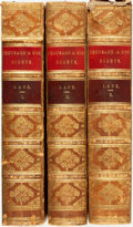 Books:Literature Pre-1900, Edward William Lane, translator. William Harvey, illustrator.The Thousand and One Nights, Commonly Called, in England, ...(Total: 3 Items)