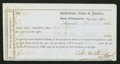 Confederate Notes:Group Lots, Interim Depositary Receipt Savannah, (GA)- $1,000 Apr. 1, 1864Tremmel GA-151.. ...