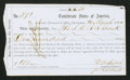 Confederate Notes:Group Lots, Interim Depositary Receipt Charleston, (SC)- $100 Mar. 18, 1864Tremmel SC-39A.. ...