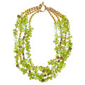 Estate Jewelry:Necklaces, Peridot, Quartz, Cultured Pearl Necklace. ...