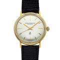 Timepieces:Wristwatch, Gent's 18k Gold Girard Perregaux Chronometer. ...