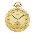 Timepieces:Pocket (post 1900), Longines 17 Jewel Open Face Pocket Watch. ...