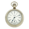 Timepieces:Pocket (pre 1900) , Waltham 18 Size Open Face Pocket Watch. ...