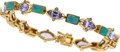Estate Jewelry:Bracelets, Tanzanite, Black Opal, Gold Bracelet. ...