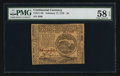 Colonial Notes:Continental Congress Issues, Continental Currency February 17, 1776 $4 PMG Choice About Unc 58EPQ.. ...