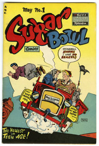 Sugar Bowl Comics #1 Mile High pedigree (Famous Funnies, 1948) Condition: VF/NM. One of Alex Toth's earliest covers grac...