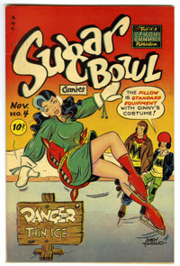 Sugar Bowl Comics #4 Mile High pedigree (Famous Funnies, 1948) Condition: VF+. Outstanding page quality! Overstreet 2006...