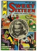Golden Age (1938-1955):Non-Fiction, Sweet Sixteen #5 Mile High pedigree (Parents' Magazine Institute,1947) Condition: NM-. Ann Francis photo cover. Gregory Pec...