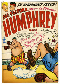 "Humphrey Comics #1 Davis Crippen (""D"" Copy) pedigree Group (Harvey, 1948) Condition: VF/NM. Ham Fisher cover..."