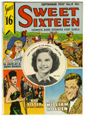 Golden Age (1938-1955):Non-Fiction, Sweet Sixteen #9 Mile High pedigree (Parents' Magazine Institute,1947) Condition: NM. William Holden feature. Partial photo...