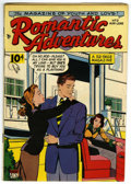 """Golden Age (1938-1955):Romance, Romantic Adventures #2 (ACG, 1949) Condition: VG. This copy's got a nice """"Mile High"""" smell! There is amateur restoration, wi..."""