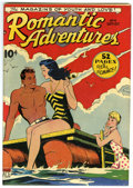 Golden Age (1938-1955):Romance, Romantic Adventures #4 Mile High pedigree (ACG, 1949) Condition:VF/NM. This is the first time we've seen this issue, and CG...