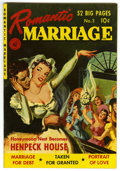 Golden Age (1938-1955):Romance, Romantic Marriage #3 Mile High pedigree (Ziff-Davis, 1950)Condition: VF/NM. An ultra-glossy copy of a seldom-seen book!Pai...