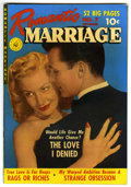 Golden Age (1938-1955):Romance, Romantic Marriage #7 (Ziff-Davis, 1951) Condition: VF. Photo cover.Overstreet 2006 VF 8.0 value = $69. From the John McLa...