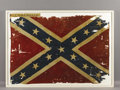 "Military & Patriotic:Civil War, The Confederate Battle Flag of the 31st Tennessee Volunteers, ""TheWestern Stars"". A Confederate battle flag that was never ..."