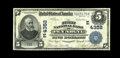 National Bank Notes:Pennsylvania, Pen Argyl, PA - $5 1902 Date Back Fr. 593 The First NB Ch. #(E)4352. A bright and nicely margined Very Fine from th...