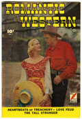 Golden Age (1938-1955):Romance, Romantic Western #1 Mile High pedigree (Fawcett, 1949) Condition:VF/NM. Photo cover. Overstreet 2006 VF/NM 9.0 value = $193...
