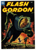 "Golden Age (1938-1955):Science Fiction, Flash Gordon #2 Davis Crippen (""D"" Copy) pedigree (Dell, 1953)Condition: VF. Painted cover. Overstreet 2006 VF 8.0 value = ..."