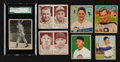 Baseball Cards:Lots, 1930's-1950's Multi-Brand Vintage Baseball Card Collection (30)With '39 Williams Rookie. ...