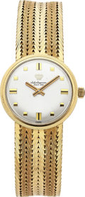 Estate Jewelry:Watches, Jules Jurgensen Gentleman's Gold Wristwatch. ...