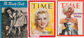 Movie/TV Memorabilia:Documents, A Marilyn Monroe Group of Magazines, 1940s-1970s.... (Total: 3Items)