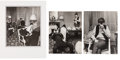 Music Memorabilia:Photos, Beatles Large Candid Photos (Three) Taken in February 1964 by Harry Benson at the Plaza Hotel in New York. ... (Total: 3 Items)
