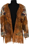 "Movie/TV Memorabilia:Costumes, An Alan Dexter 'Native American'-Style Jacket form ""Paint YourWagon.""..."