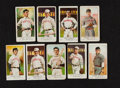 Baseball Cards:Lots, 1909-10 E91 American Caramel Baseball Card Group (9). ...