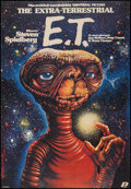 """Movie Posters:Science Fiction, E.T. The Extra-Terrestrial (Polfilm, 1984). Polish One Sheet(26.25"""" X 38""""). Science Fiction.. ..."""