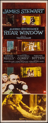 "Rear Window (Paramount, 1954). Insert (14"" X 36""). Hitchcock"