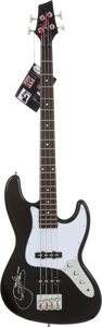 Music Memorabilia:Autographs and Signed Items, Gene Simmons Signed Bass Guitar (Kona, 2013)....
