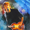Music Memorabilia:Original Art, Beatles - Paul McCartney Fine Art Giclee Print By Shannon....