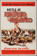 "Movie Posters:War, Battle of Blood Island & Other Lot (Filmgroup, Inc., 1960). OneSheets (2) (27"" X 41""). War.. ... (Total: 2 Items)"
