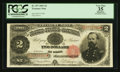 Large Size:Treasury Notes, Fr. 357 $2 1891 Treasury Note PCGS Apparent Very Fine 35.. ...