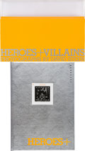 Music Memorabilia:Autographs and Signed Items, Heroes + Villains by David Steen Deluxe Limited Edition Book#28/350 (Genesis Publications, 2005)....