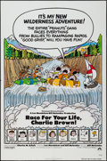 "Movie Posters:Animation, Race for Your Life, Charlie Brown (Paramount, 1977). One Sheet (27"" X 41""). Animation.. ..."