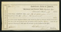 Confederate Notes:Group Lots, Interim Depository Receipt Savannah, (GA)- $100 Mar. 31, 1864Tremmel GA-146. . ...