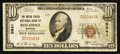 National Bank Notes:Montana, Red Lodge, MT - $10 1929 Ty. 1 The United States NB Ch. # 9841. ...