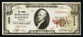 National Bank Notes:Montana, Kalispell, MT - $10 1929 Ty. 1 The Conrad NB Ch. # 4803. ...
