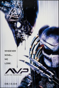 """Movie Posters:Science Fiction, Alien vs. Predator & Others Lot (20th Century Fox, 2004). OneSheets (4) (27"""" X 40"""") SS & DS, Predator Style A, Alien Style... (Total: 6 Items)"""