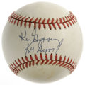 Autographs:Baseballs, Ken Griffey and Ken Griffey, Jr. Dual-Signed Baseball. Thefather-son combo of Ken Griffey and Ken Griffey, Jr. have each c...