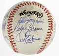 Autographs:Baseballs, Los Angeles Dodgers Multi-Signed Adult Fantasy Camp Baseball Signedby 11. The Los Angeles Dodgers' twice-yearly adult fant...
