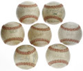 Autographs:Baseballs, 1966-74 Phoenix Giants Team Signed Baseballs Lot of 7. The teamthat was formerly known as the San Francisco Seals became a...(Total: 7 Items)