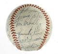 Autographs:Baseballs, 1971 Chicago White Sox Team Signed Baseball. The 1971 Chicago WhiteSox are represented in this offering: an OAL (Cronin) b...