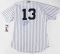 Autographs:Letters, Alex Rodriguez Signed Jersey. A-Rod has dazzled fans from coast tocoast with his consistently top-notch play, most recentl...