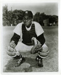 Autographs:Photos, Elston Howard Signed Photograph. Elston Howard, the firstAfrican-American ever to play baseball for the New York Yankees,...